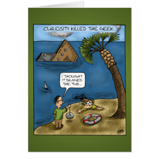 Funny Anniversary Cards: Ships Ahoy Greeting Card