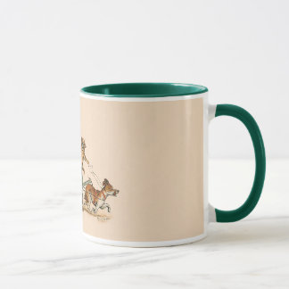 Funny Anthropomorphic Cats by Louis Wain Mug