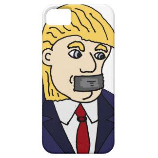 Funny Anti Donald Trump Political Cartoon iPhone 5 Cover