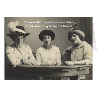 Funny Anti-Friendship Card