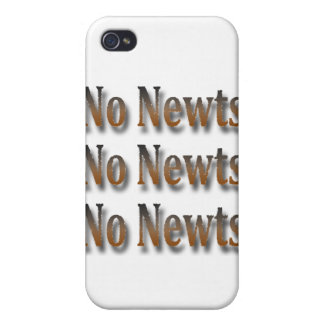 Funny Anti Newt Gingrich Chant Brown Covers For iPhone 4