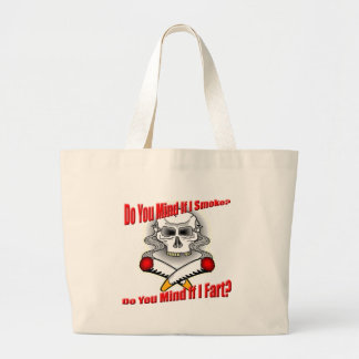 Funny Anti-Smoking T-shirts Gifts Jumbo Tote Bag