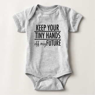Funny Anti Trump Baby Baby Bodysuit