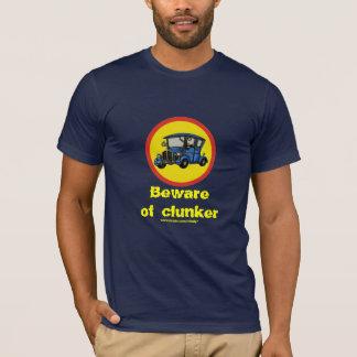 Funny antique car clunker t-shirt design