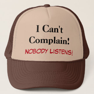 Funny Apparel Trucker Hat