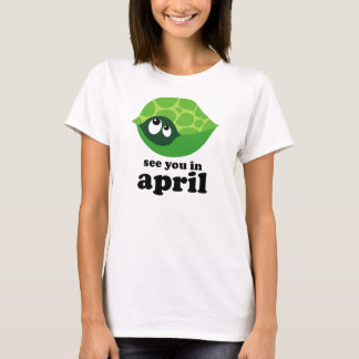 Funny April Due Date Maternity T-Shirt