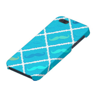 Funny Aqua Mustache iPhone 5/5S Covers
