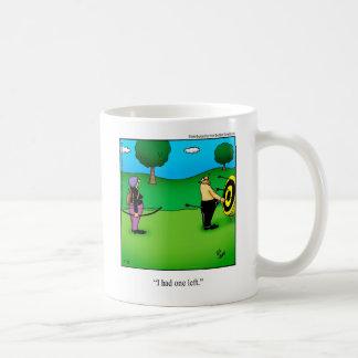 Funny Archery Humor Mug Gift