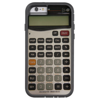 Funny Architectural Calculator Tough Xtreme iPhone 6 Case