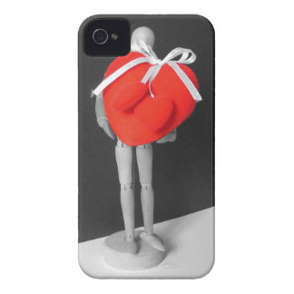 Funny Artist's Mannequin with Love Hearts Photo iPhone 4 Case-Mate Cases
