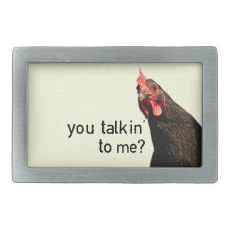 Funny Attitude Chicken Belt Buckles