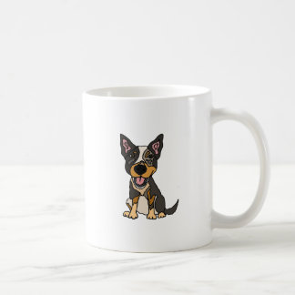 Funny Australian Cattle Dog Puppy Artwork Coffee Mug