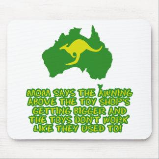 Funny Australian slang Mouse Pad