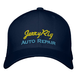 Funny Auto Mechanic Embroidered Hat