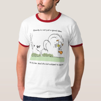 Funny Aviation Gravity Joke T-Shirt