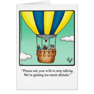 Funny Aviation History Month Greeting Card