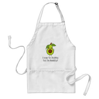 Funny Avocado Chubby But Good Fat Standard Apron