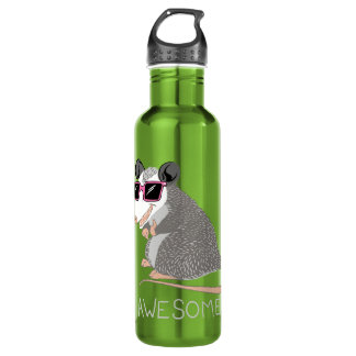 Funny Awesome Possum 710 Ml Water Bottle