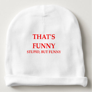 FUNNY BABY BEANIE