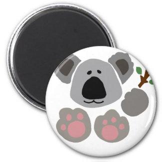 Funny Baby Koala Bear Art Magnet