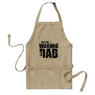 Funny Baby Loves Waking New Dad Standard Apron