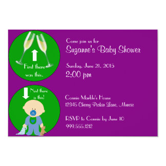 Funny Baby Shower Invitation