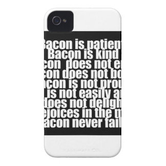 Funny Bacon is Kind parody Case-Mate iPhone 4 Case