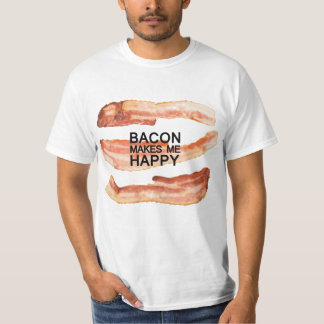 Funny! Bacon Lover T-shirt by Mini Brothers