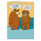 Funny Bad Fur Day Birthday Card