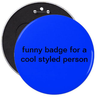 funny badge pin