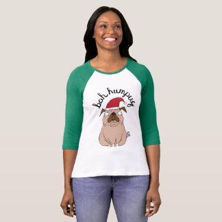 Funny Bah Humpug Santa Pug Christmas Sweater