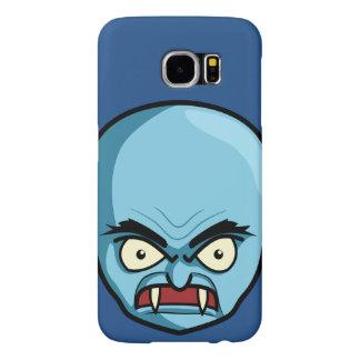 Funny Bald Blue Demon Samsung Galaxy S6 Cases