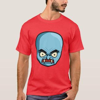 Funny Bald Blue Demon T-Shirt