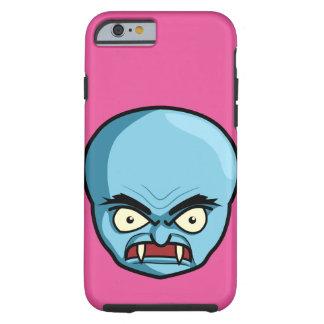 Funny Bald Blue Demon Tough iPhone 6 Case