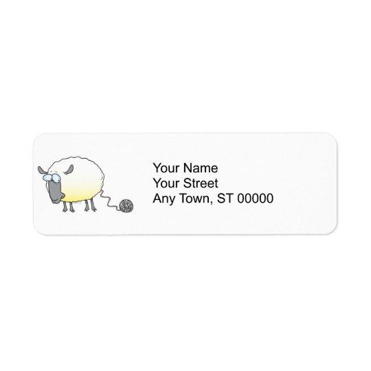 funny ball of yarn cloned sheep cartoon