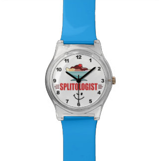 Funny Banana Split Lover's Wristwatches