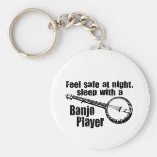 Funny Banjo Keychain
