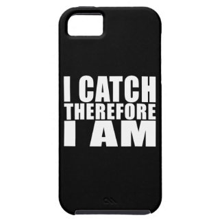 Funny Baseball Catchers : I Catch Therefore I Am iPhone 5 Cases
