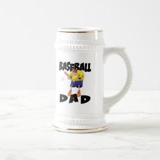 Funny Baseball Dad Father s Day Coffee Mug
