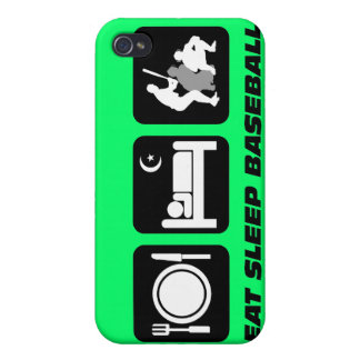 funny baseball iPhone 4/4S cases
