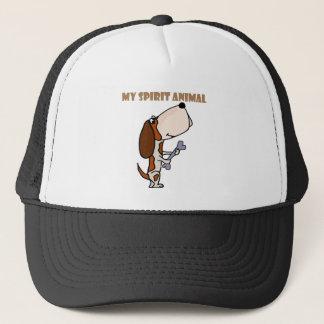 Funny Basset Hound Spirit Animal Trucker Hat