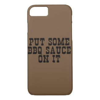 Funny BBQ - iPhone Case