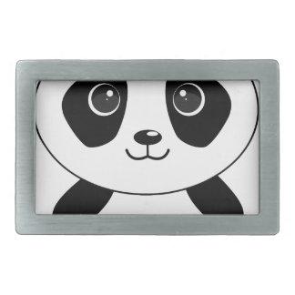 Funny bear panda bear panda animals belt buckles