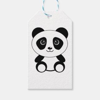 Funny bear panda bear panda animals gift tags