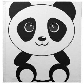 Funny bear panda bear panda animals napkin