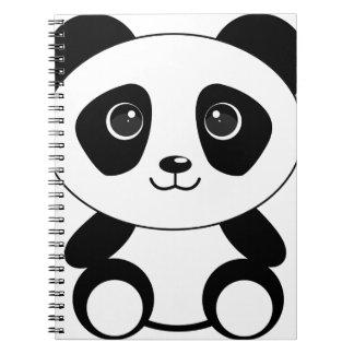 Funny bear panda bear panda animals notebook