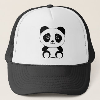 Funny bear panda bear panda animals trucker hat