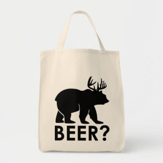 Funny Bear with Horns = Beer?
