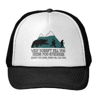Funny bears trucker hat