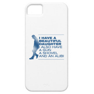 Funny Beautiful Daughter iPhone 5 Covers